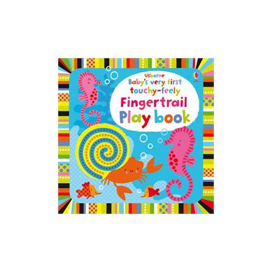 Wydawnictwo Usborne Publishing - Baby's Very First Touchy Feely Fingertail Play Book
