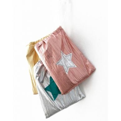 Ratatam - Peleryna Wróżki Dwustronna Pink/Silver