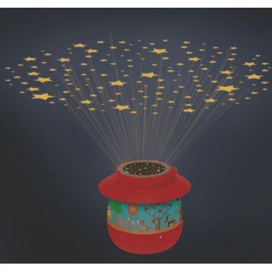 Scratch - Nocna Lampka Safari z Projektorem