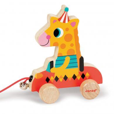 Janod - Zabawka do Ciągnięcia Żyrafa