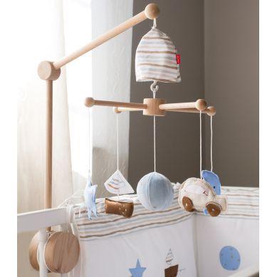 Muzpony - Karuzela do Łóżeczka z Obrotową Pozytywką Ulubione Zabawki