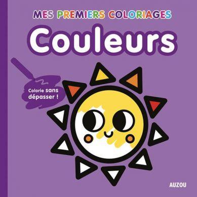 Auzou - Moja Pierwsza Kolorowanka Kolory 3+