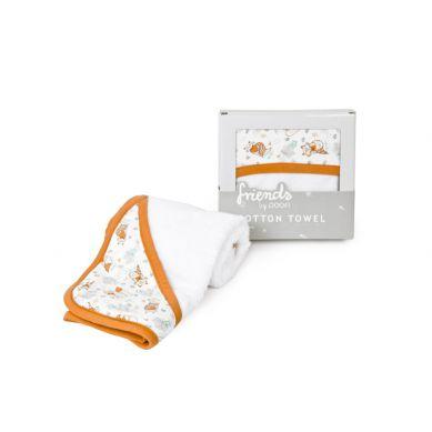 Poofi - Ręcznik Kąpielowy z Kapturkiem 85x85cm Liski