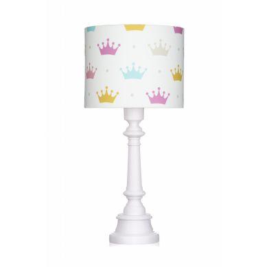 Lamps&co. - Lampa Stojąca Princess Korony ze Ściemniaczem