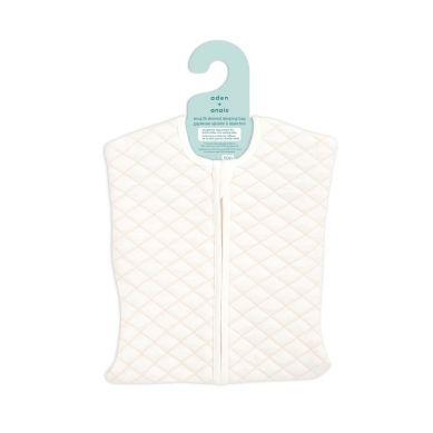 aden + anais - Śpiworek Muślinowy Snug Fit Sleeved Cream/Pink 0-3 m