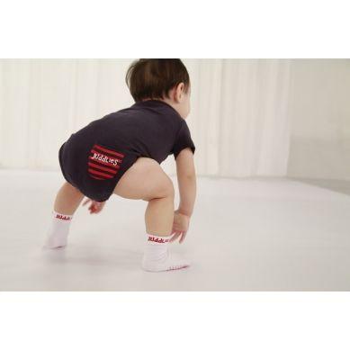 Juddlies - Body Sachet Pink Stripe 12-18m