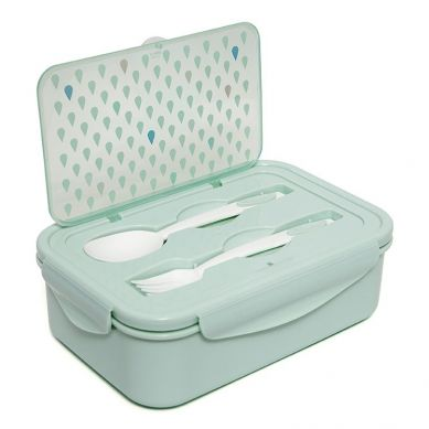 Petit Monkey - Lunchbox Bento Drops Green