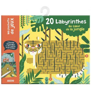 Auzou - Kreślenie po Śladach Labirynty w Dżungli 6+