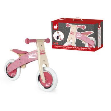 Janod - Rowerek Biegowy Różowy Little Bikloon