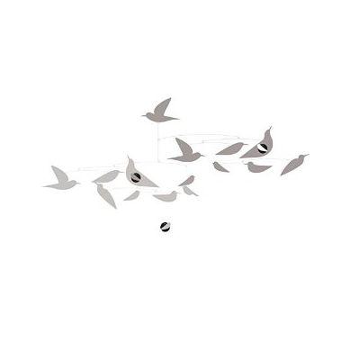 Djeco - Ruchoma Dekoracja Białe Ptaki
