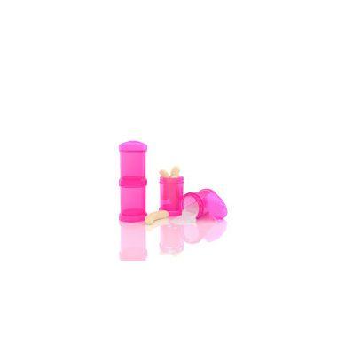Twistashake - Pojemnik na Mleko w Proszku 2x100ml Różowy