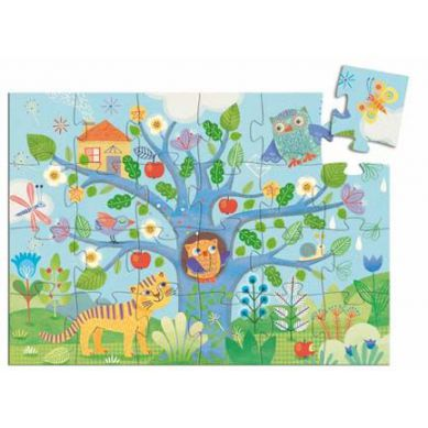 Djeco - Puzzle Sowa