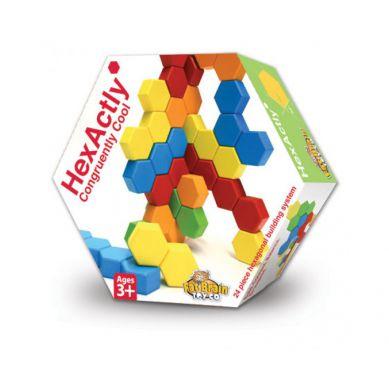 Fat Brain Toys - HexActly Drewniane Klocki