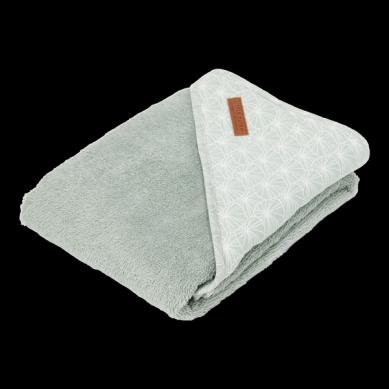 Little Dutch - Bawełniany Ręcznik Lily Leaves Mint