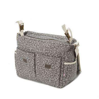 My Bag's - Torba do Wózka Flap Bag My Liberty Flowers Dark Grey
