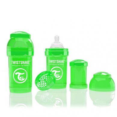 Twistshake - Butelka Anty-kolkowa 180ml Zielona