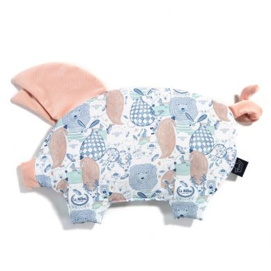 La Millou - Podusia do Wózka Sleepy Pig La Millou Family Powder Pink Bright