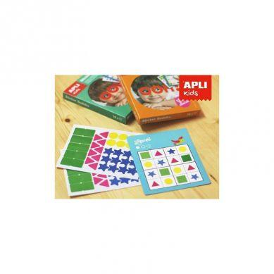 Apli Kids - Gra Podróżna z Naklejkami Sudoku kolory