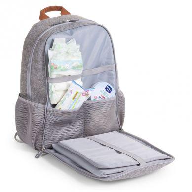 Childhome - Plecak Filcowy z Przewijakiem Szary