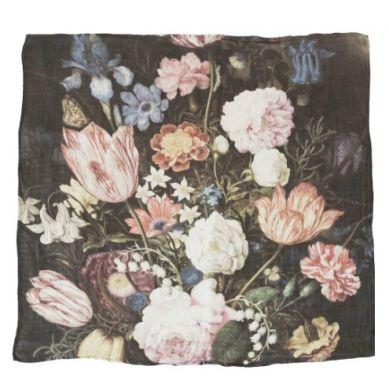 Loulou Lollipop - Otulacz Bambusowy 120x120 Tuscan Flowers