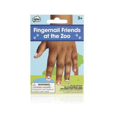 NPW ROW - Naklejki na Paznokcie Friends at the Zoo