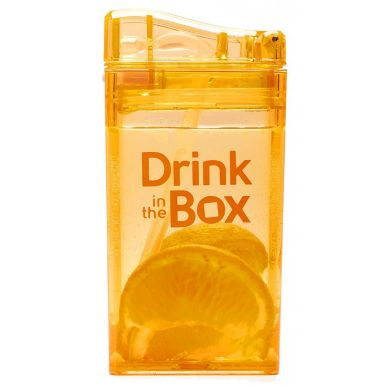 Drink In The Box - Bidon ze Słomką 240ml Orange