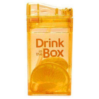 Drink In The Box - Bidon ze Słomką 240ml Orange