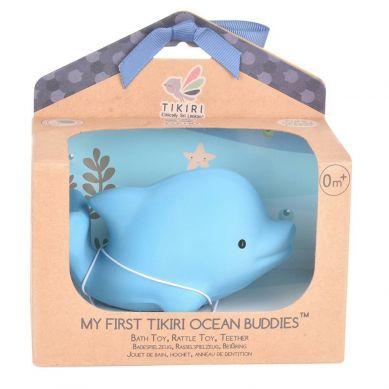 Tikiri - Zabawka Gryzak Delfin Ocean w Pudełku 0m+
