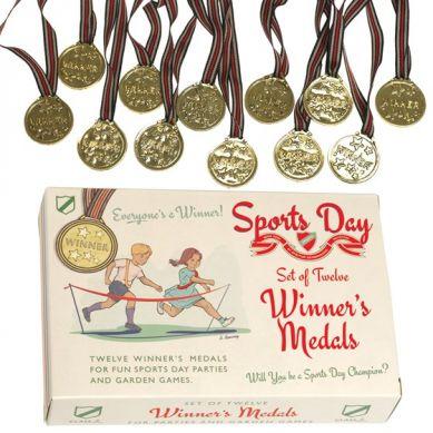 Rex - Zestaw 12 Medali Sportowych