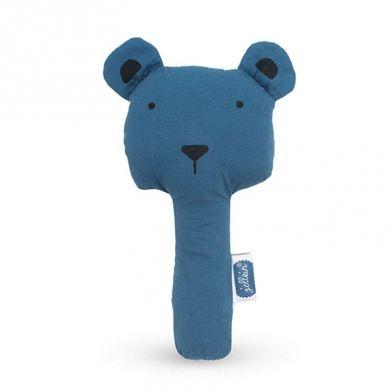 Jollein - Grzechotka Piszcząca  Squeaker Animal Club Steel Blue