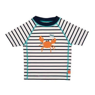 Lassig - Koszulka T-shirt do Pływania UV 50+ Sailor Navy 36m+