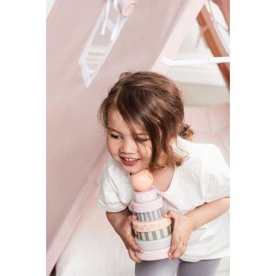 Kids Concept - Edvin Wieża Drewniana Różowa