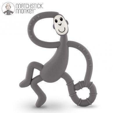 Matchstick Monkey - Gryzak Masujący ze Szczoteczką Grey