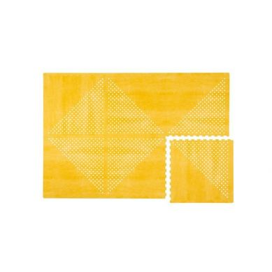 Toddlekind - Mata do Zabawy Piankowa Podłogowa Prettier Playmat Earth Mustard Flower