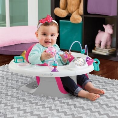 Summer Infant - Siedzisko Super Seat 4 w 1 Pink