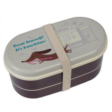 Rex - Dwupoziomowy Lunchbox Sausage Dog