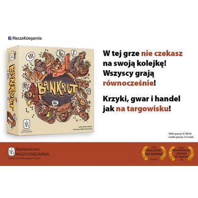 Wydawnictwo Nasza Księgarnia - Gra Bankrut 8+