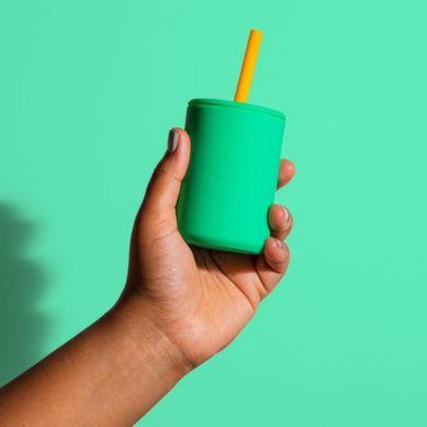 Avanchy - LeaPetite Silikonowy Kubeczek dla Dziecka 6m+ Orange