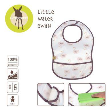 Lassig - Lekki Śliniak Wodoodporny 6m+ Little Water Łabędź