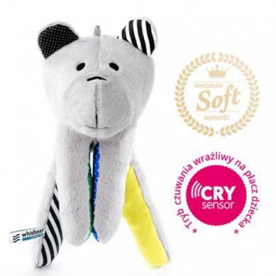 Whisbear - Szumiący Miś Soft z Funkcją CrySensor Cytrynowy