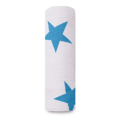 aden + anais - Otulacz Muślinowy Brilliant Blue