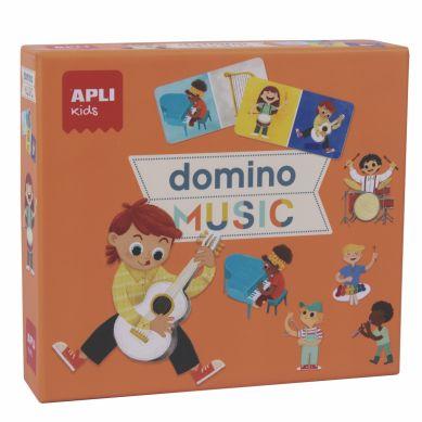 Apli Kids - Gra Domino Expressions Muzyka 3+