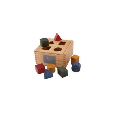 Wooden Story - Shape Sorter Box Kolorowy