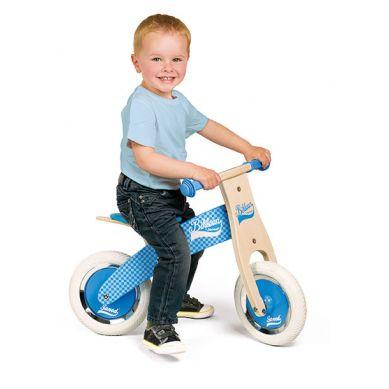 Janod - Rowerek Biegowy Niebieski Little Bikloon