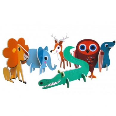 OMM Design - Puzzle 3d Parada Zwierząt