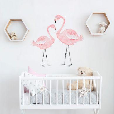 Dekornik - Naklejki Ścienne Flamingi 50x50