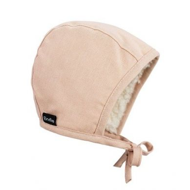 Elodie Details - Czapka Winter Bonnet - Powder Pink - 1-2 lata