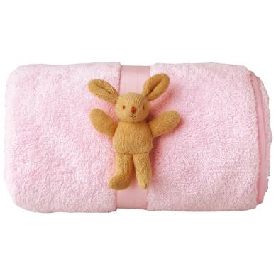 Trousselier - Kocyk Fluffy 65x90cm Pink