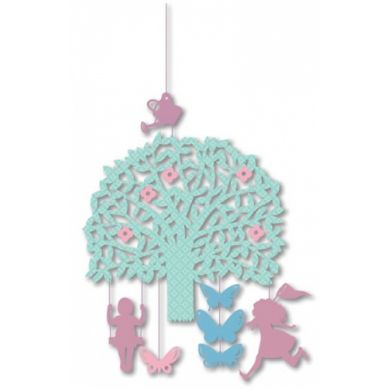 Djeco - Mini Ruchoma DekoracjaŁapanie Motyli