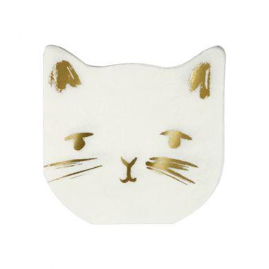 Meri Meri - Serwetki Urodzinowe Cat